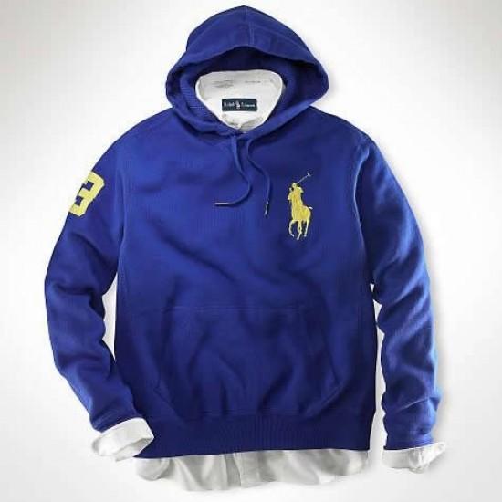 Ralph Lauren Big Pony Sweatshirts Blue