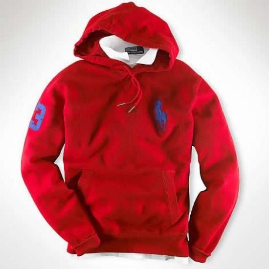 Ralph Lauren Big Pony Sweatshirts Red