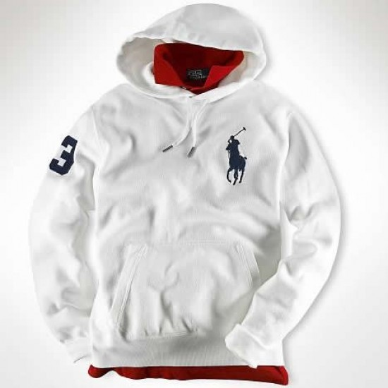 Ralph Lauren Big Pony Sweatshirts White