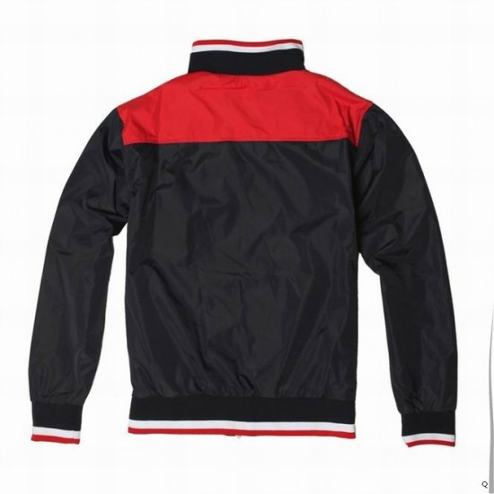 Polo Ralph Lauren Men's Jacket Black And Red