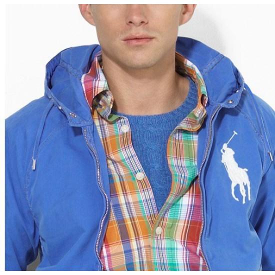 Polo Ralph Lauren Men's Jacket Light Blue