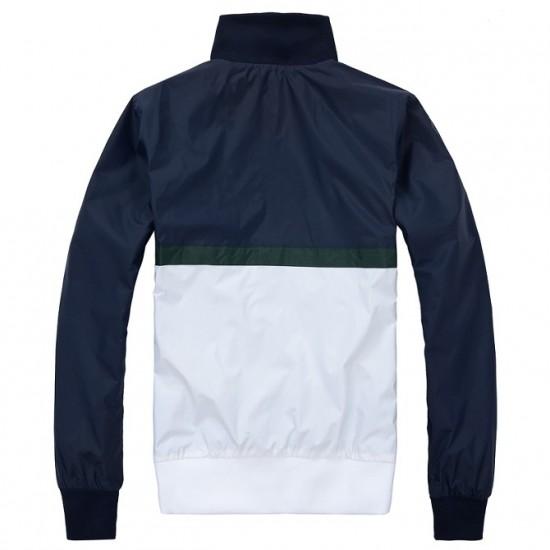 Polo Ralph Lauren Men's Jacket Pony Blue White