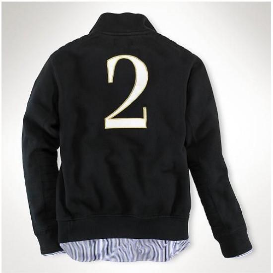 Polo Ralph Lauren Men's Jackets Black Watch Half Zip