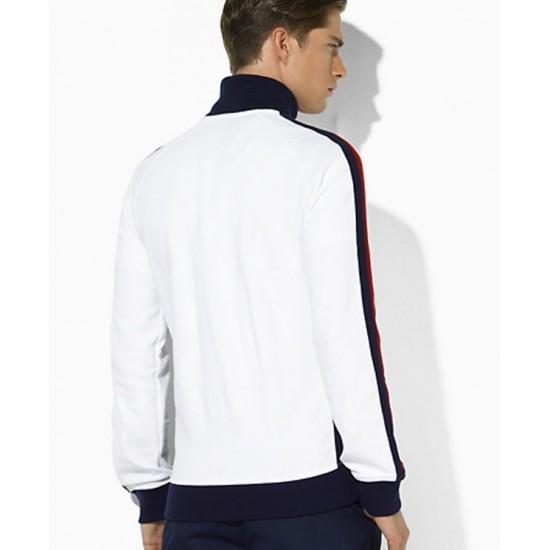 Polo Ralph Lauren Men's Jackets US Open Full Zip White