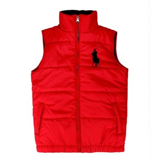 Polo Ralph Lauren Men's Ascender Down Vest Red