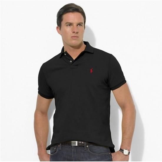 Men's Polo Ralph Lauren Big Pony Short Sleeved Black