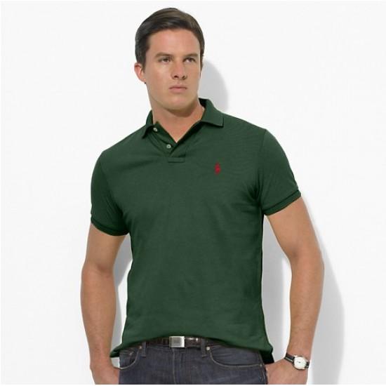 Men's Polo Ralph Lauren Big Pony Short Sleeved Darkgreen