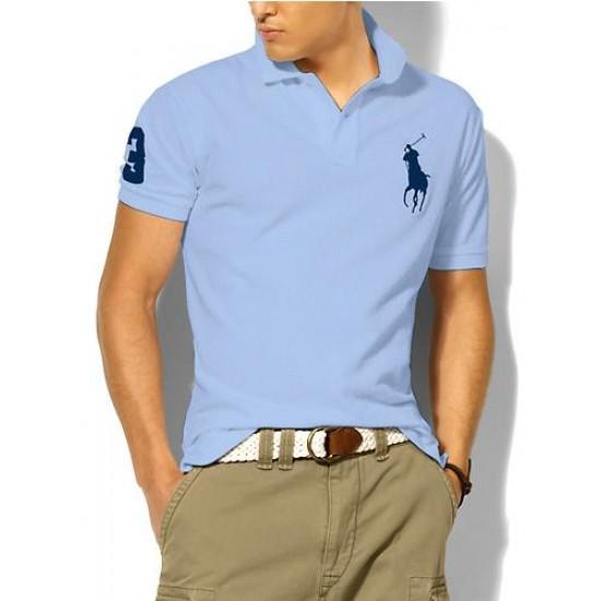 Polo Ralph Lauren Polos Big Pony Blue Light Blue For Men