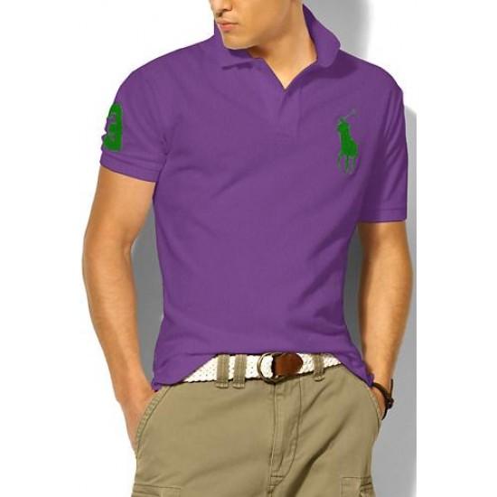 Polo Ralph Lauren Polos Big Pony Green Purple For Men