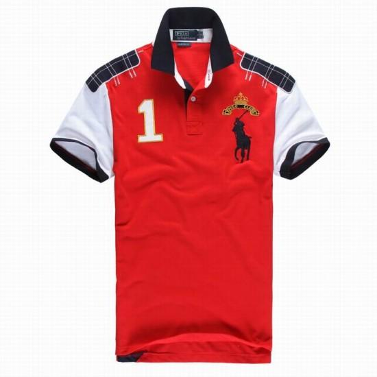 Polo Ralph Lauren Polos Club Black Red For Men