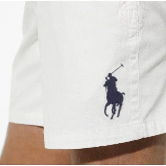 Polo Ralph Lauren Men's Big Pony Short White