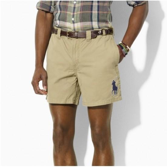 Polo Ralph Lauren Men's Big Pony Short Khaki