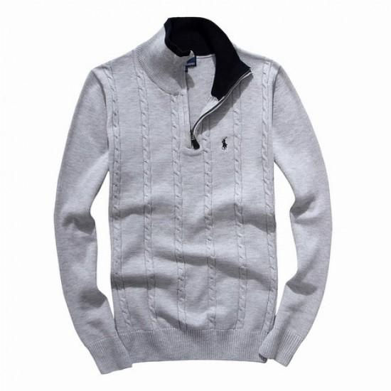 Authentic store ralph lauren men half-zipper sweater