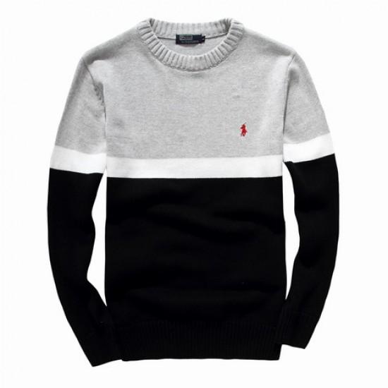 High quality ralph lauren men sweater gray black