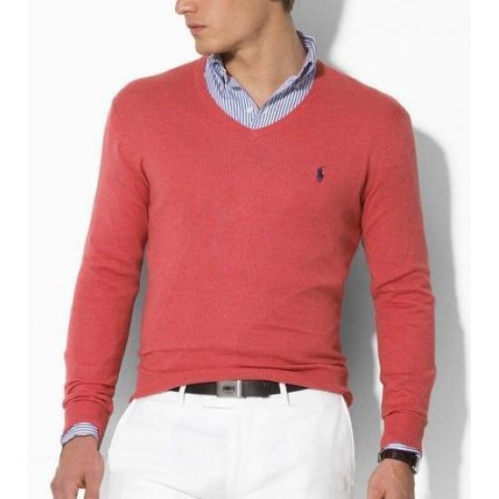 Buy authentic polo ralph lauren sweaters red men