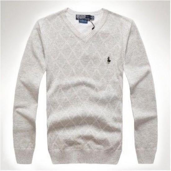 Buy perfect light grey ralph lauren sweaters