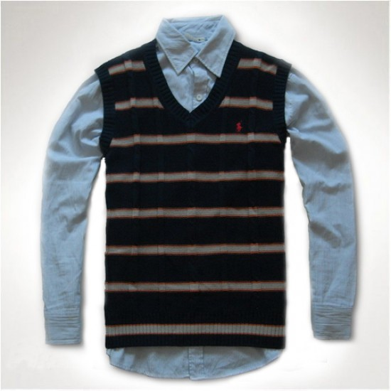 Recently launched ralph lauren men black polo sweaters