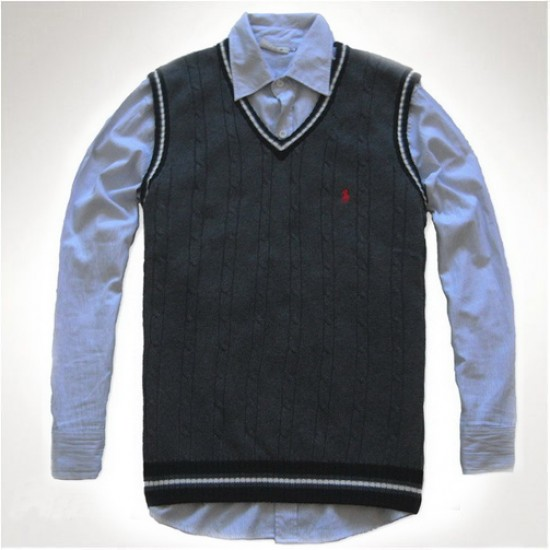 Products hot sale polo darkgrey sweaters men
