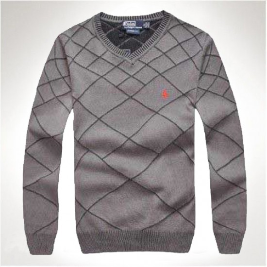 Best quality grey polo ralph lauren sweaters men