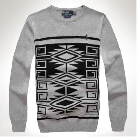ralph lauren men New style grey polo sweaters