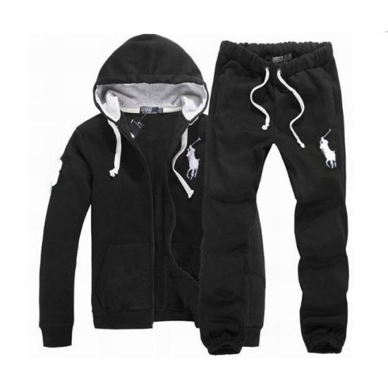 Polo Ralph Lauren Men's Tracksuit In Black