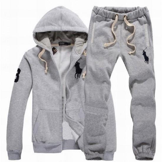 Polo Ralph Lauren Men's Tracksuit In Grey