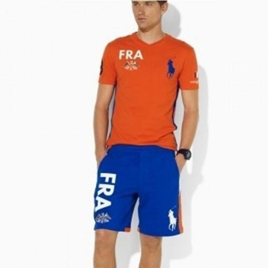 Ralph Lauren Ocean Challenge FRA Tracksuit T-shirt and Short