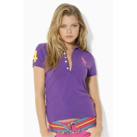 Women's Big Pony Tropic Purple Ralph Lauren Polo Tropic Purple