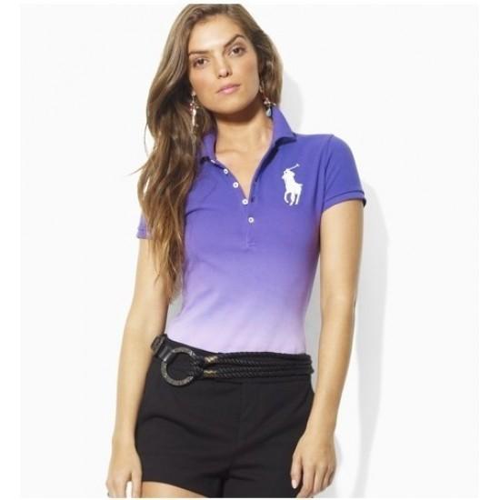 Women's discount Ralph Lauren Big Pony Polo In Blue