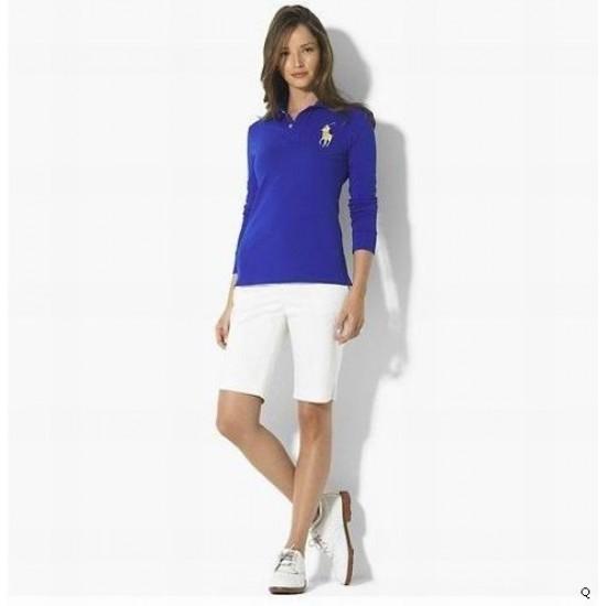 Woemn's Polo Ralph Lauren Long Sleeve Blue